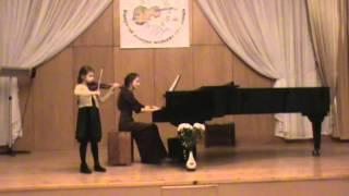И. Мохначева Концертино для скрипки с фортепиано - Гуртовая София