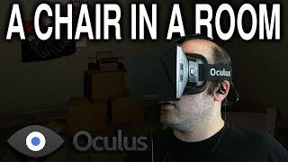 Oculus Rift Dk1 - A Chair In A Room (4k)