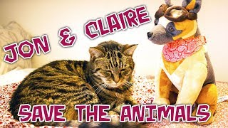 Jon & Claire Save The Animals - Charity Livestream Special
