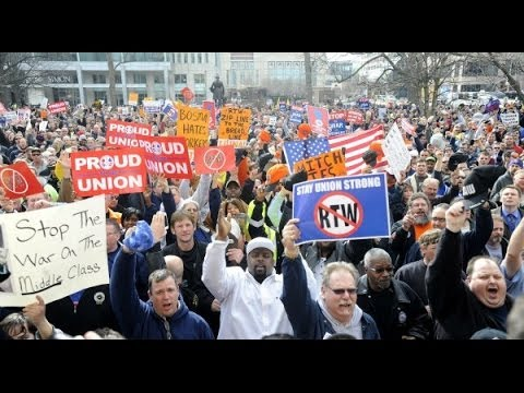 Caller:  Right to Work Laws Hurt Unions
