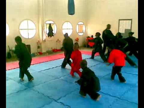 Ecole Kung Fu Piscine Olympique De Dakar Youtube