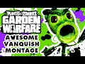 Plants vs. Zombies: Garden Warfare - Awesome Peashooter Vanquish Montage!