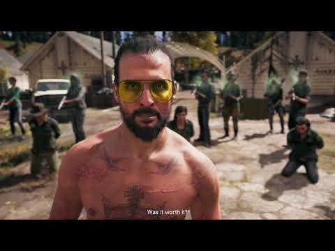Joseph Seed - Walk Away Game Ending - Far Cry 5 |