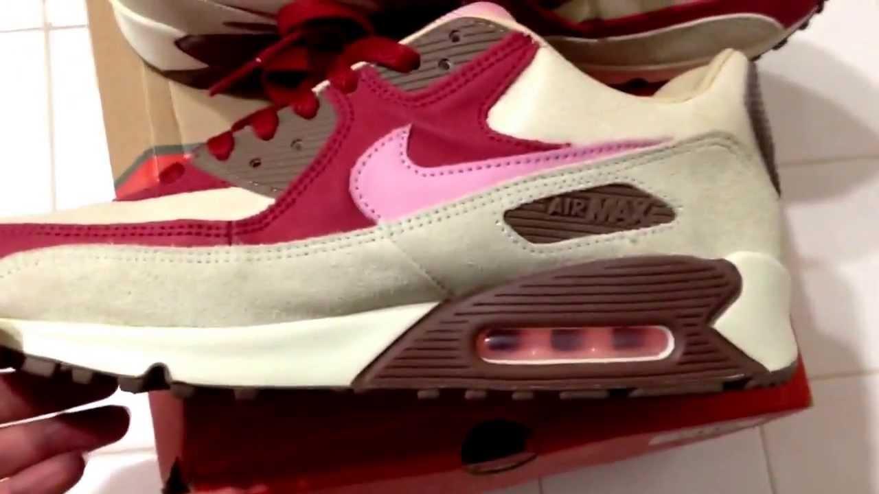 Nike Air Max 90 DQM Bacon - YouTube 434dbc193