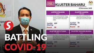 Covid-19: Five new clusters, four new deaths