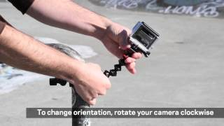 Joby Action Clamp & Gorillapod Arm Demo