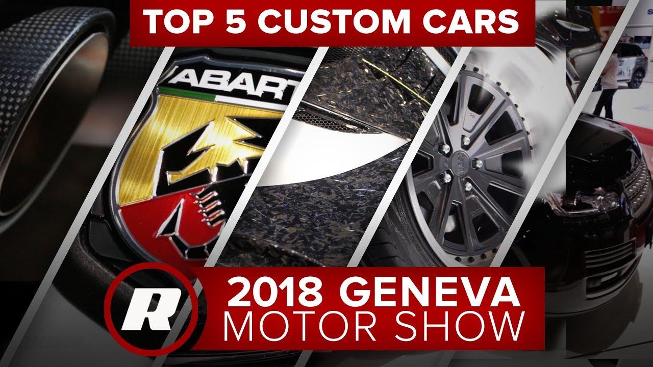 Liberty Walk Mustangs to Rally Fiats: 5 custom tuner cars at the 2018 Geneva Motor Show - Dauer: 119 Sekunden