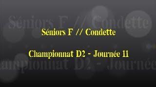 Retour sur le match... Séniors F // Condette