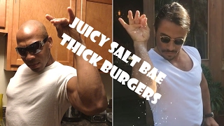 Video Juicy Salt Bae Thick Burgers download MP3, 3GP, MP4, WEBM, AVI, FLV Mei 2018