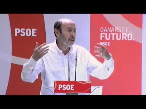"""Rubalcaba: No queremos la España del """"Cuéntame"""" del PP"""