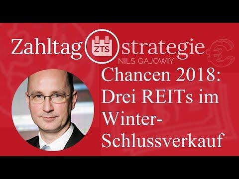 Chancen 2018: Drei REITs im Winterschlussverkauf