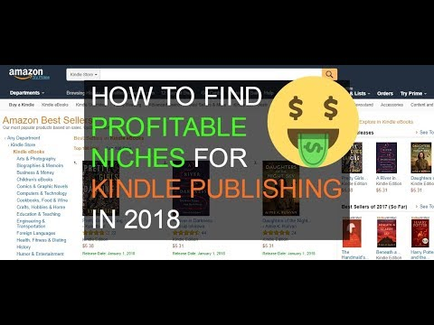 Kindle Publishing Series: How To Find a Profitable Niche