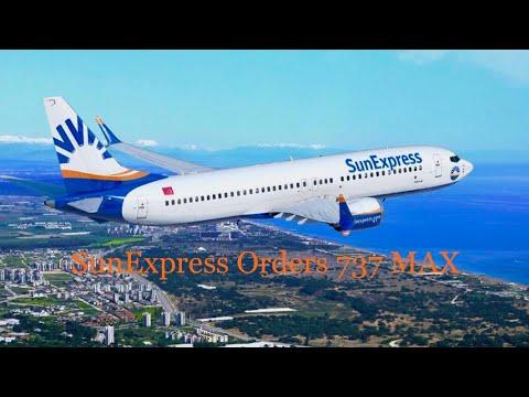 SunExpress Orders Boeing 737 Max: Dubai Airshow 2019 Update