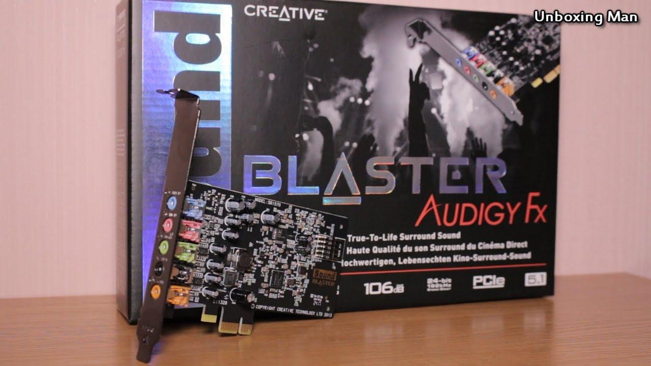CREATIVE SOUND BLASTER AUDIGY FX SOUND CARD 64BIT DRIVER DOWNLOAD