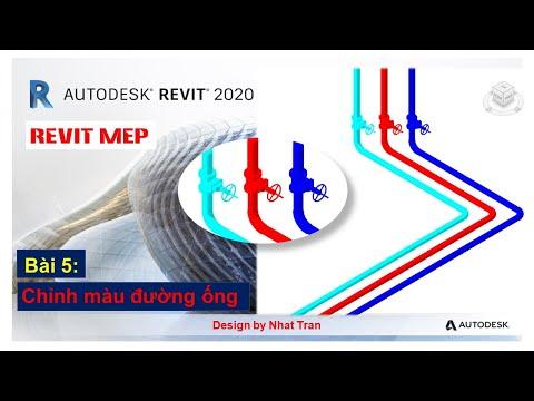 Revit MEP 2020   BÀI 5:  Chỉnh màu và Filter đường ống   Nhật Trần