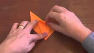Origami Somersaulting Horse