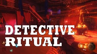 Shadows Of Evil Detective Ritual Tutorial (Black Ops 3 Zombies Gameplay)