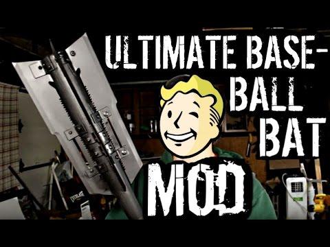 FALLOUT 4 IRL: THE NIGHT TERROR (Ultimate Baseball Bat Mod)