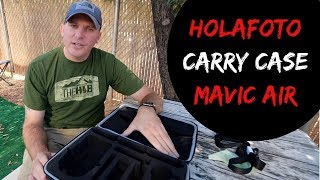 DJI Mavic Air Carrying Case Review - HolaFoto - Fly More Combo