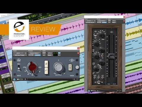 Review  Universal Audio Neve and Helios Mic Pres