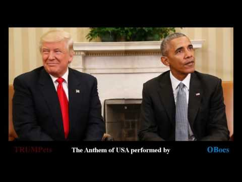 The Anthem of USA performed by OBoes and TRUMPets.