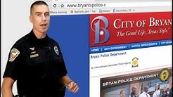 Bryan PD Alarm Permits - How-To