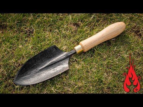 Blacksmithing - Making a garden trowel