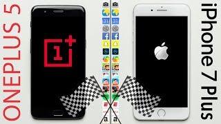 شاهد كيف نجح الهاتف OnePlus 5 في إسقاط iPhone 7 Plus من عرشه - إلكتروني
