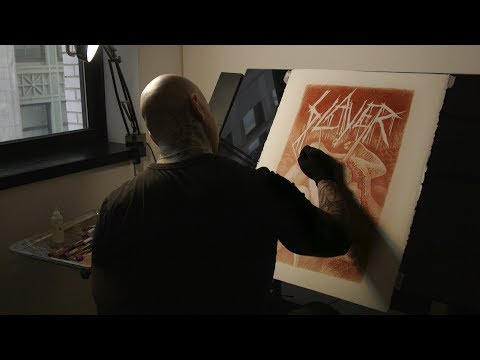 """Blood Painter"" Vincent Castiglia on Slayer, Giger, Gregg Allman, Power of Art"