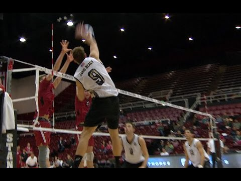 Stanford vs Long Beach State FULL GAME (Men's Volleyball)