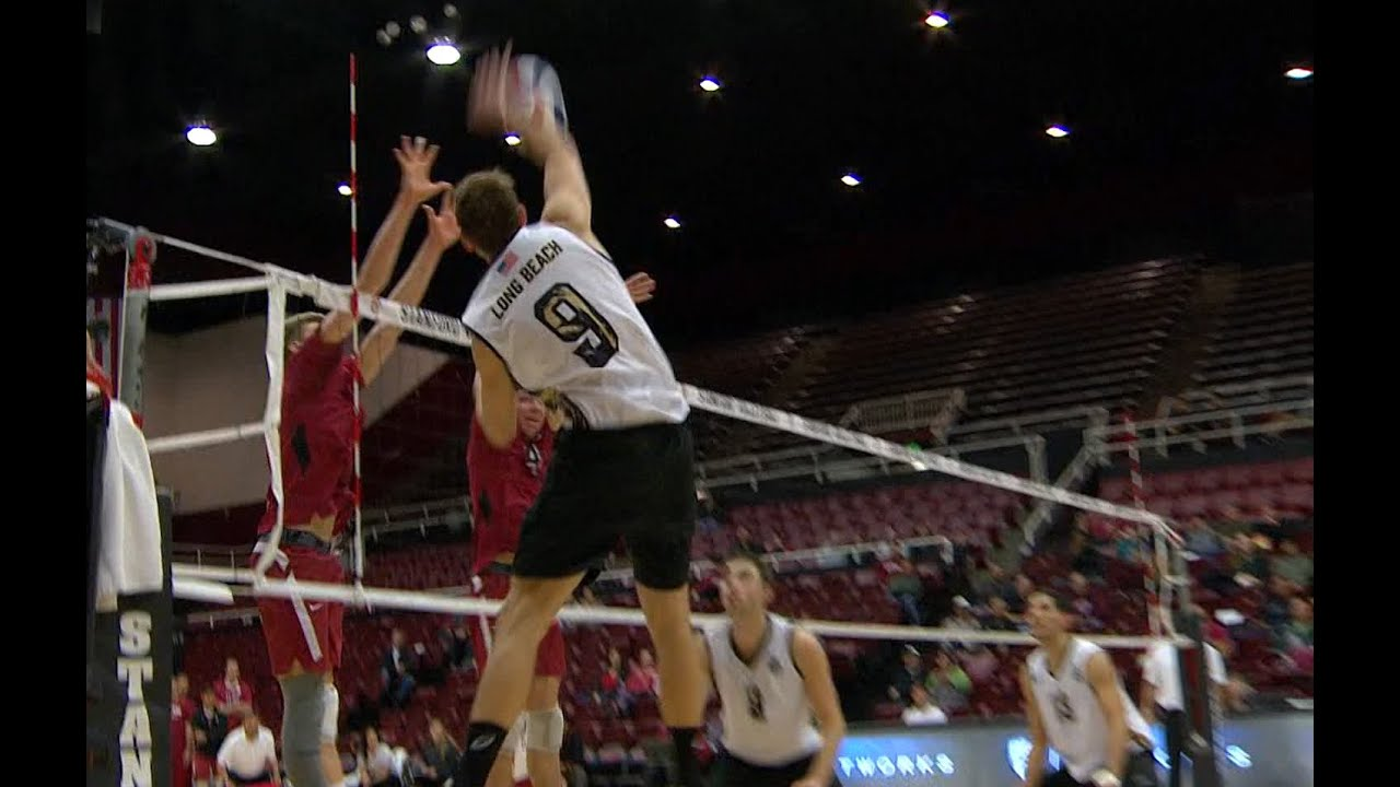 Stanford vs Long Beach State FULL GAME (Men's Volleyball ...