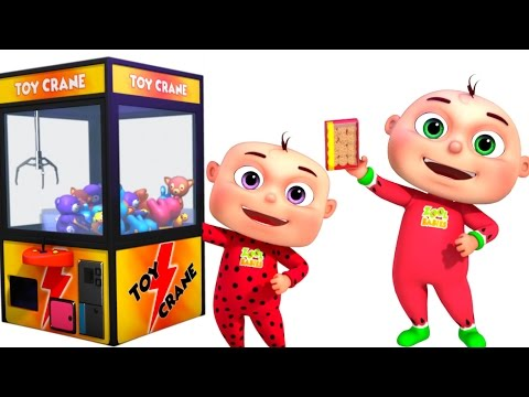 Thumbnail: Five Little Babies Playing Claw Machine | Nursery Rhymes Collection | Kids Songs & Baby Rhymes