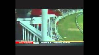 rameez raja power full hittng 97 runs of just 44 balls faysal bank t20 2011 with english commentry