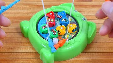 움직이는 낚시게임, 남자어린이 장난감 작동완구, 유아완구놀이, MINI FISHING GAME