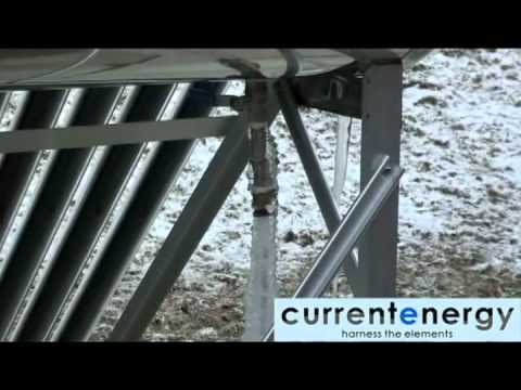 CURRENTENERGY.CA - Part 2 - PHA180 - Evacuated Tube Solar Thermal Collector System