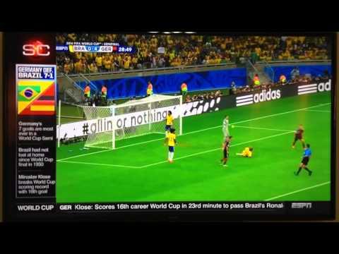 Highlights Germany Vs Brazil 7-1 World Cup 2014