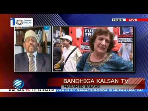 BANDHIGA KALSAN TV /DHAXAL SUGAHA SACUUDIGA OO FASHILKII UGU HOREEYAY LA KULMAY IYO SACUUDIGA OO SIY