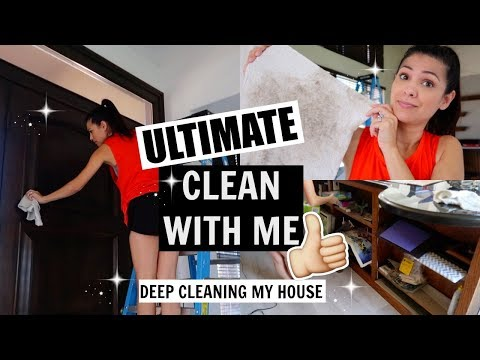 ULTIMATE CLEAN WITH ME 2018 \\ DEEP CLEANING MY HOUSE \\ Style Mom XO