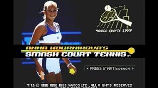 PSX Longplay [328] Anna Kournikova`s Smash Court Tennis