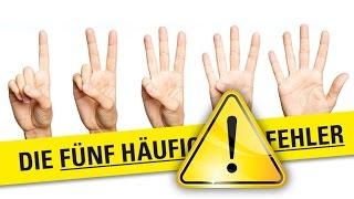 Немецкий язык: 10 самых популярных ошибок! Уровни А1-А2! Часть 2. Популярные ошибки.