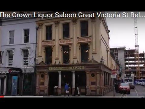 Inside The Crown Bar Liquor Saloon, Belfast