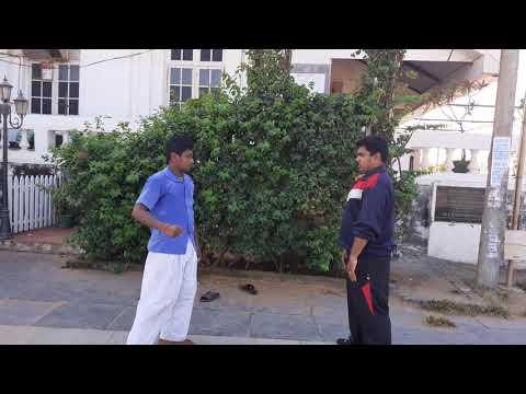 Self defense training sensei Adhithyan Anil Seibukan