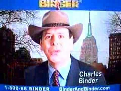 Binder and Binder...the Cowboy Hatted Lawyers.