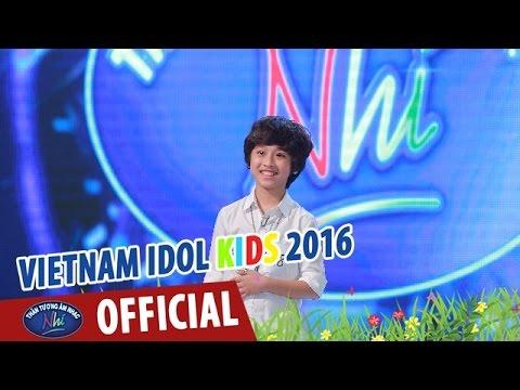 VIETNAM IDOL KIDS - THẦN TƯỢNG ÂM NHẠC NHÍ 2016 - TẬP 3 - ÔI QUÊ TÔI - GIA KHIÊM