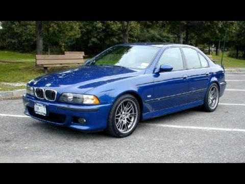 BMW M5 E39 Vehicle Overview and Test Drive - YouTube
