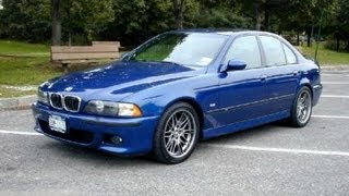 BMW M5 E39 Vehicle Overview and Test Drive