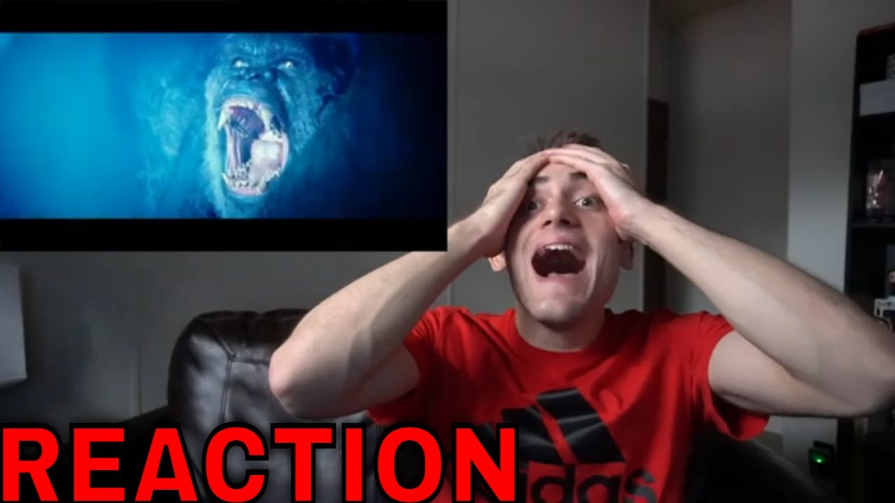 Godzilla Vs King Kong Official Trailer Reaction