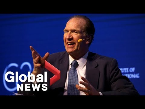 Trump names David Malpass as U.S. nominee for World Bank President
