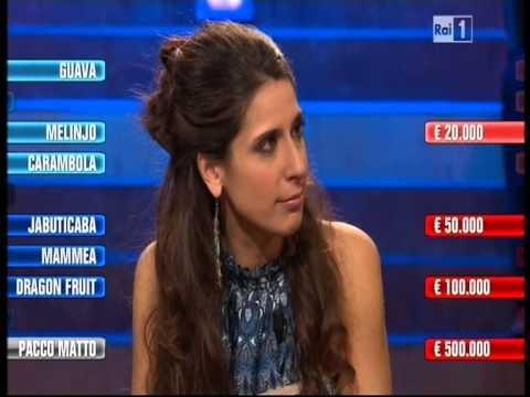 Affari Tuoi del 24-02-2013 ELVIRA BOVE per la Calabria