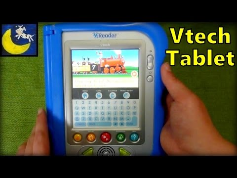vtech  reader tablet    engine   cartridge ereader  kids youtube